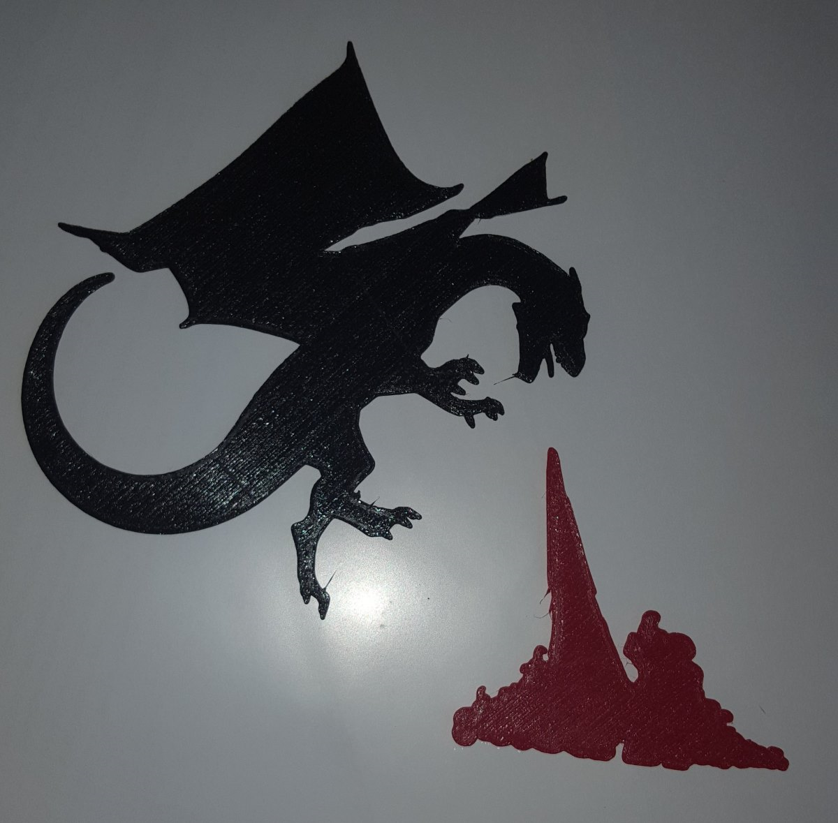 dragon with fire blast.png Download free STL file Dragons for Everyone! • 3D printing design, barb_3dprintny