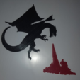 Free STL Dragons for Everyone!, barb_3dprintny