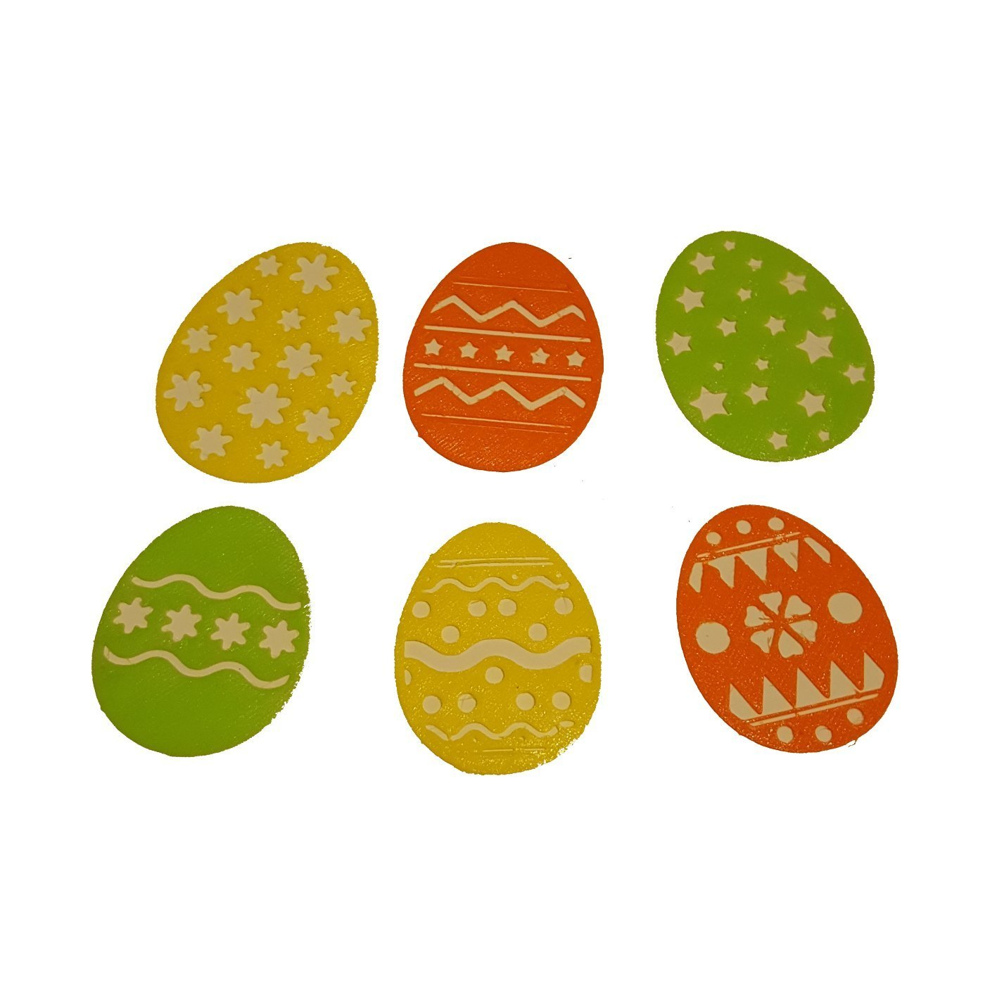 easter eggs 2.jpg Download free STL file EASTER EGG DECORATIONS • Template to 3D print, barb_3dprintny