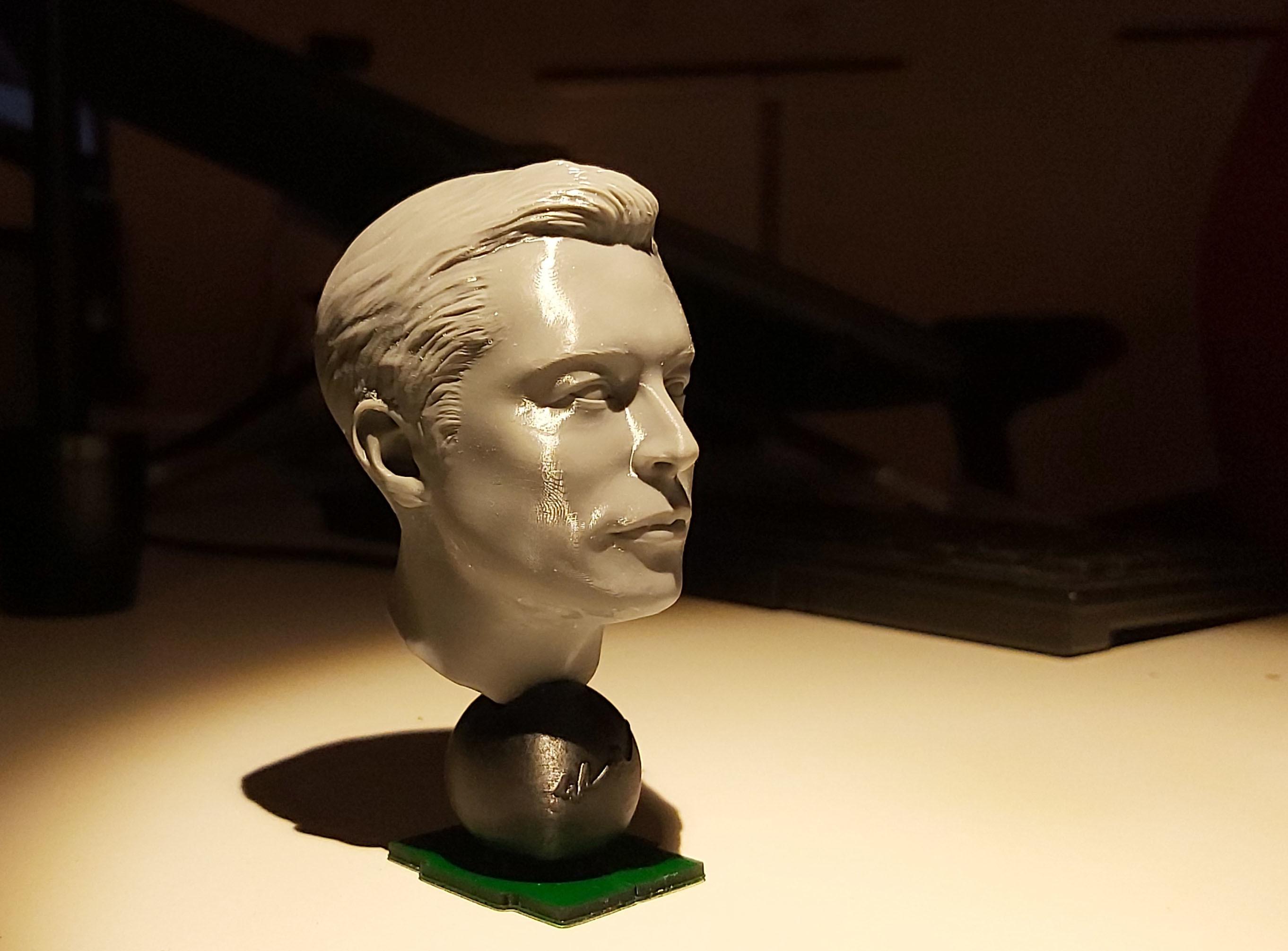 20191220_193624.jpg Télécharger fichier STL gratuit Musc Elon • Design imprimable en 3D, tutus