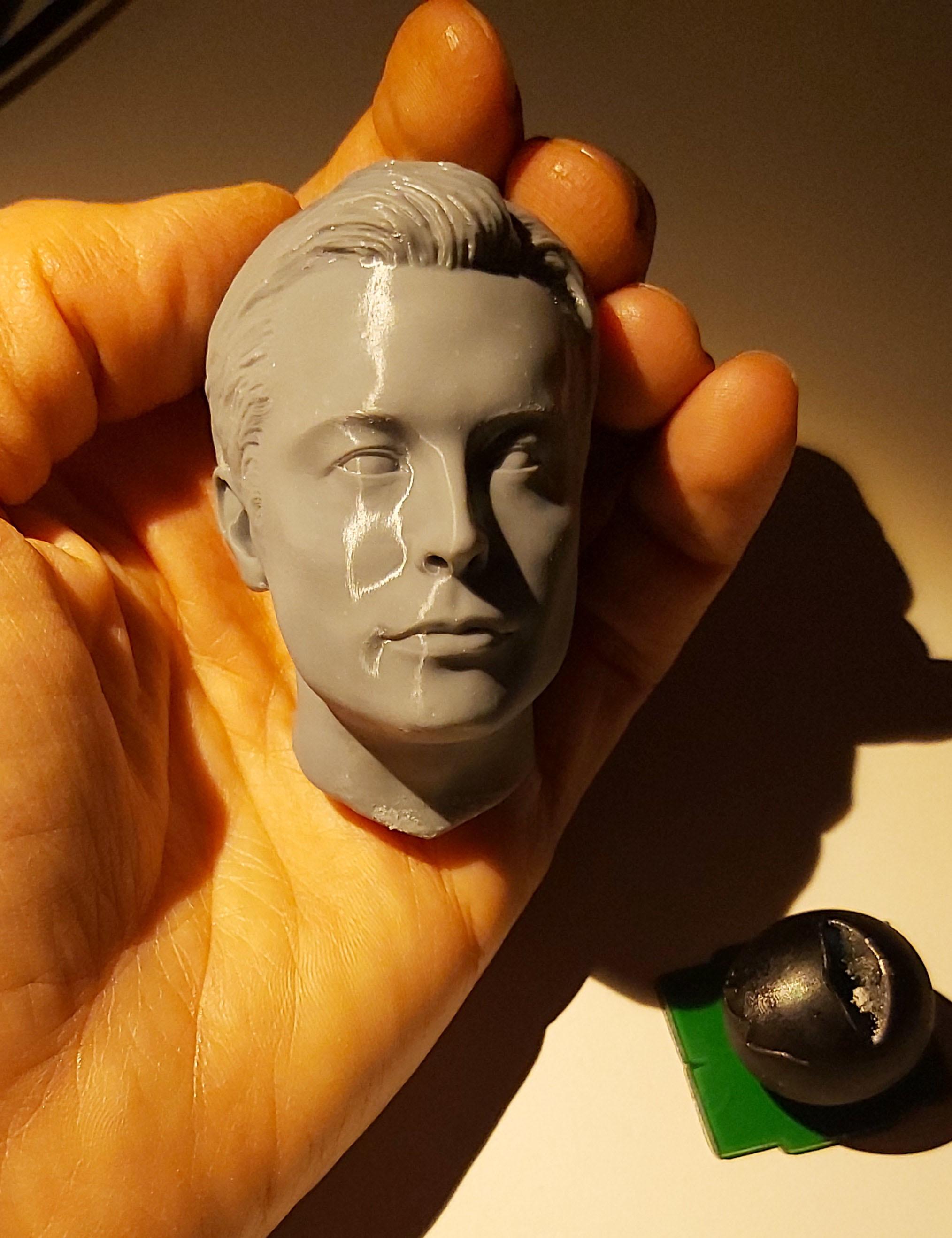 20191220_194044.jpg Télécharger fichier STL gratuit Musc Elon • Design imprimable en 3D, tutus