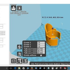 nmax.jpg Download free STL file Fork protector Nmax • Model to 3D print, robroy