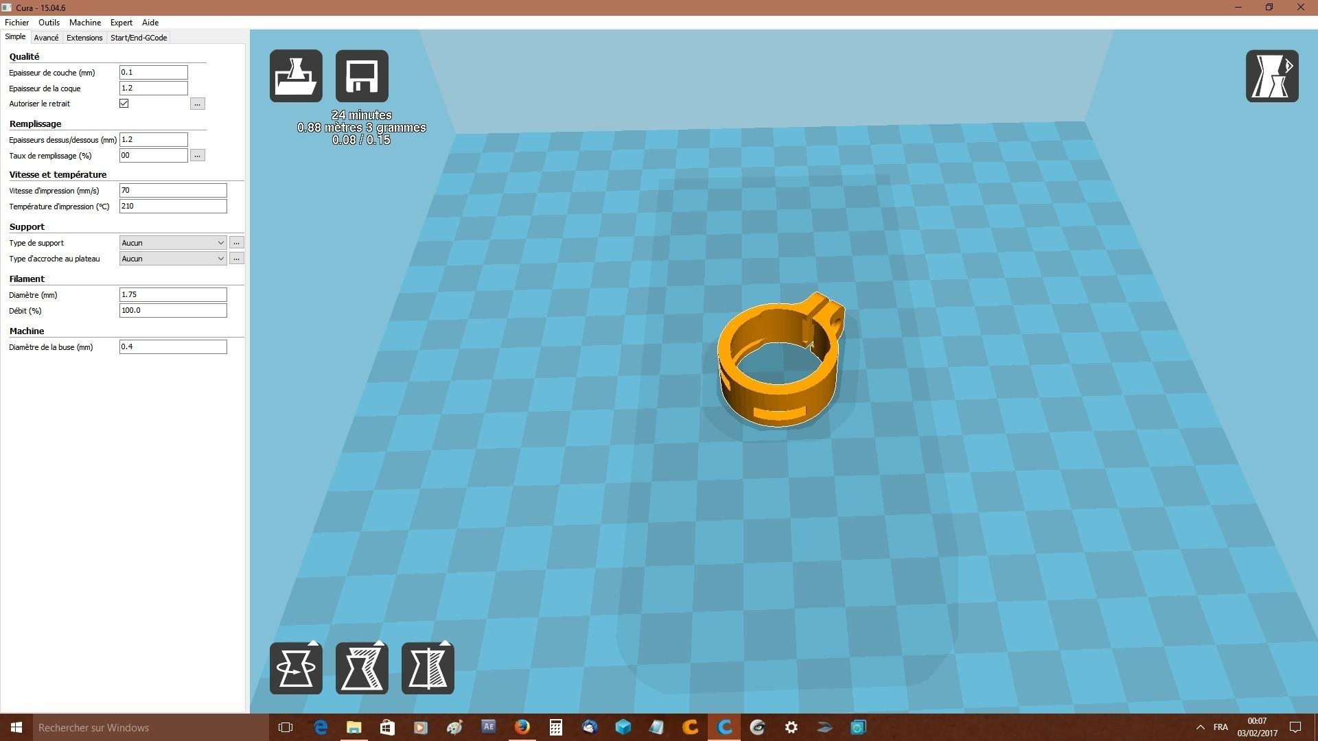 portejeton.jpg Télécharger fichier STL gratuit jeton caddie et porte jeton  • Objet pour imprimante 3D, robroy