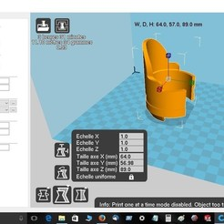 protège fourche Xmax.jpg Download free STL file Xmax fork protection • 3D printing design, robroy