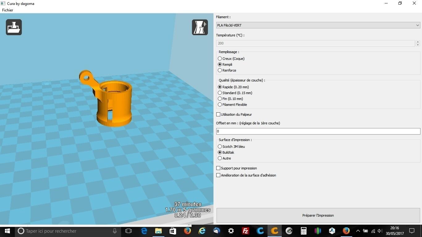 supled.jpg Download free STL file Support led • 3D printer design, robroy