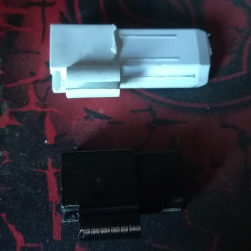 Download free 3D printer designs shower door hinge, robroy