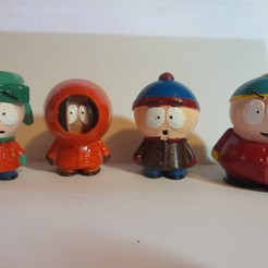 Download free 3D printing models South Park Crew, robroy