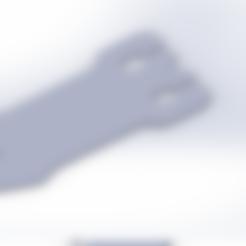 HEADPHONE HOLDER.stl Download STL file Headphone Holder • 3D printer design, wehiird