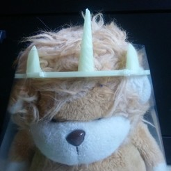 licorne.JPG Download STL file covid unicorn visor • 3D printer design, seb2583