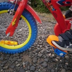 photo_cale_pied.JPG Télécharger fichier STL cale pied vélo enfant • Modèle pour impression 3D, seb2583