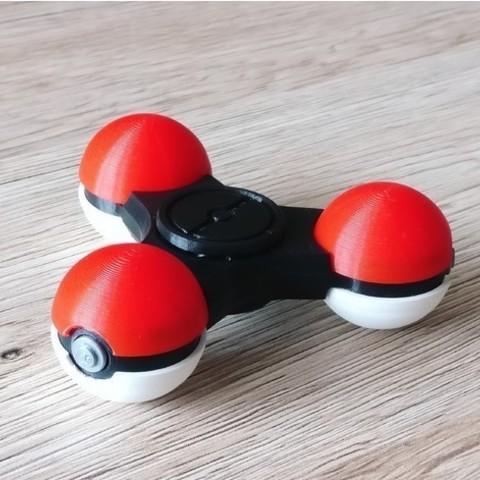 Free 3D model PokeSpinner - The Pokeball Fidget Spinner, DanielJosvai
