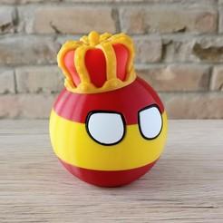 Impresiones 3D gratis Bola española, DanielJosvai