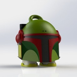 Download free 3D print files Marvin Fett, DanielJosvai