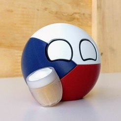 Download free 3D model Czechiaball, DanielJosvai