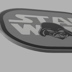porte clé star wars.png Télécharger fichier STL porte clé ou médaille star wars • Design pour impression 3D, TANK51