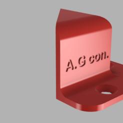 angle de fixation pc v1.png Télécharger fichier STL angles de fixation pc  • Plan pour impression 3D, TANK51
