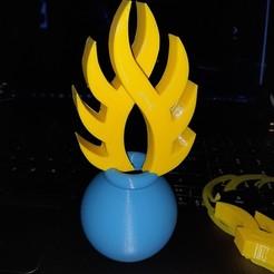 Télécharger STL grenade à 8 flammes, TANK51