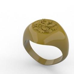 Ring F.jpg Télécharger fichier STL Anneau A1 • Plan imprimable en 3D, kileman