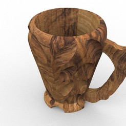 mug 2b 2.jpg Download STL file Mug for beer • 3D printing model, kileman