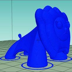 lionp407.jpg Download 3DS file Lion P 407 • 3D printer model, kileman