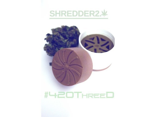 5f8e239f0f1bfe3adf521f00227983e2_preview_featured.jpg Download free STL file Toothless Herb Grinder 2.0 By 420ThreeD • 3D printable object, 420ThreeD