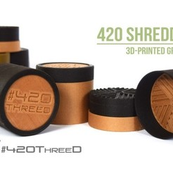 Download free STL Toothless Herb Grinder 1.0 By 420ThreeD, 420ThreeD