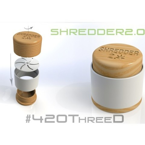 0ff4740c7b43af119f8a673b7efba402_preview_featured.jpg Download free STL file Toothless Herb Grinder 2.0 By 420ThreeD • 3D printable object, 420ThreeD
