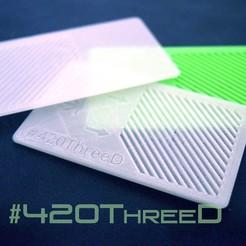 Descargar archivos STL gratis ShredderCard Herb Grinder by 420ThreeD, 420ThreeD