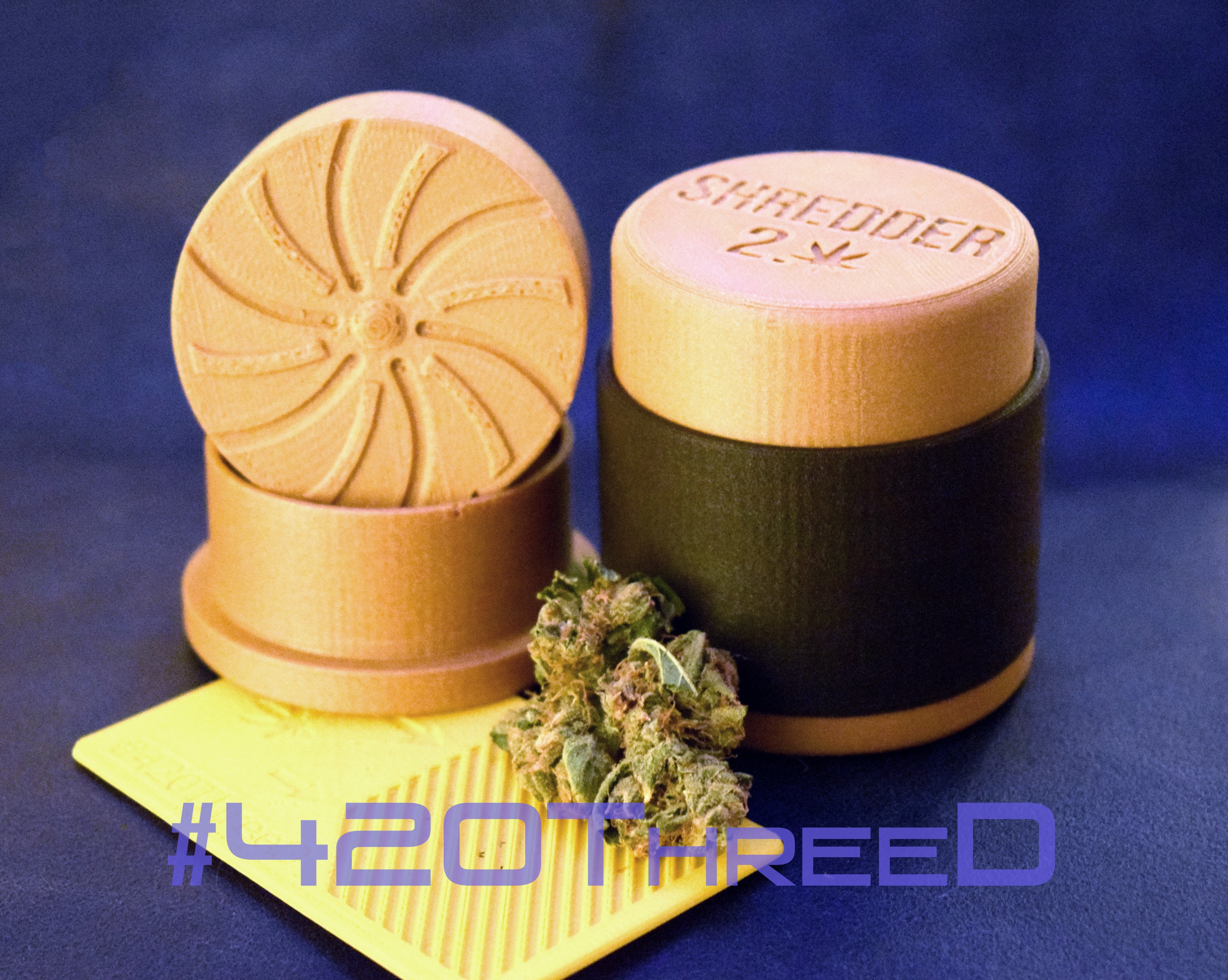 DSC_0002 2.jpg Download free STL file Toothless Herb Grinder 2.0 By 420ThreeD • 3D printable object, 420ThreeD