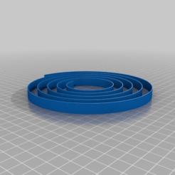 Download free 3D printer model Spiral Bed Level Test (AIR PORT), Jameschu