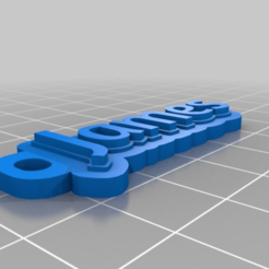 3d5760c4b643fe836629b1afc2fef836.png Download free STL file Key chain - James • Design to 3D print, Jameschu