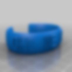 Télécharger fichier STL gratuit Ma bande de message elliptique personnalisée - OH ! WE BEST ! - A59, B48 • Plan pour imprimante 3D, Jameschu