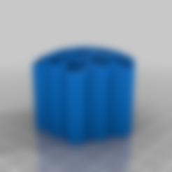 honeycomb_pencil_holder_20160222-3707-o1yu1t-0.stl Télécharger fichier STL gratuit Porte-crayons en nid d'abeille-5-2-2-46 • Design pour impression 3D, Jameschu