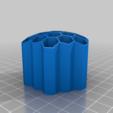 3b6bd292fe6cf09d78a25521e25388f0.png Télécharger fichier STL gratuit Porte-crayons en nid d'abeille-5-2-2-46 • Design pour impression 3D, Jameschu