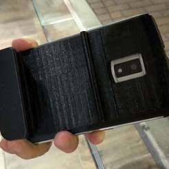 Télécharger fichier STL gratuit Unihertz Titan Grip pour la dactylographie • Objet imprimable en 3D, CyberCyclist