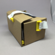 Download free STL file  HeadStrap for CardBoard VR Goggles • 3D print design, CyberCyclist