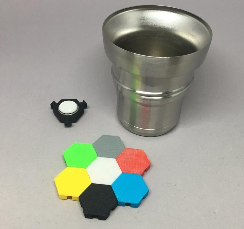 Capture d'écran 2017-05-30 à 19.21.08.png Download free STL file Hex Tile Fidget Spinner • 3D printing object, CyberCyclist