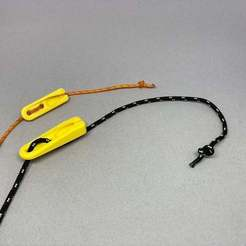 IMG_1625.JPEG Download free STL file Non-Loop Rope Tensioner • 3D print object, CyberCyclist