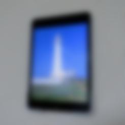 Free 3d model iPad mini 3 Wall Mount with Stapler, CyberCyclist