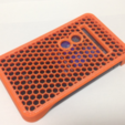 Download free STL file Miss-touch Prevention Cover for Aterm MR03LN • 3D print design, CyberCyclist