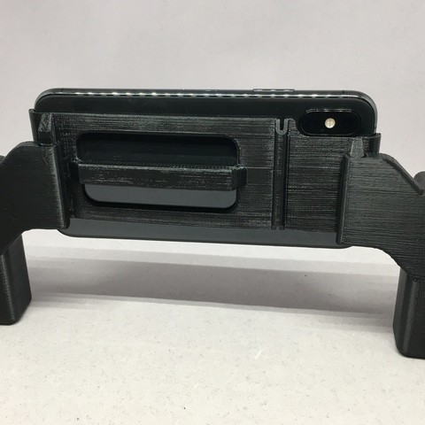 8955bfb3545c25c5269aef2ba9304c87_display_large.jpg Download free STL file Video Grips for iPhone XS Harness • 3D printable template, CyberCyclist