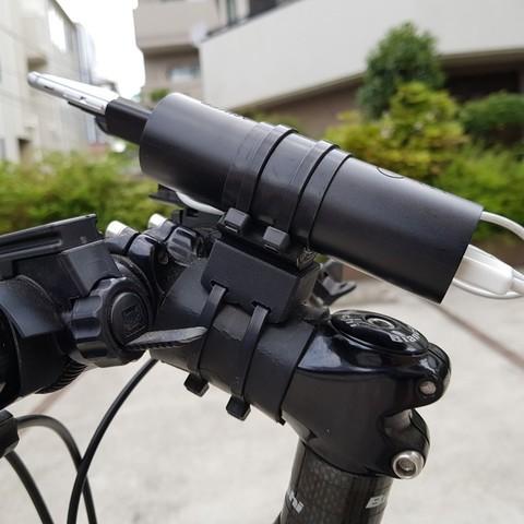 81b5cc34447231d1fa0c56e71d55b0cc_display_large.jpg Télécharger fichier STL gratuit Support de tige de vélo Snap-fit pour Anker PowerCore 5000 / PowerCore+ mini • Design imprimable en 3D, CyberCyclist