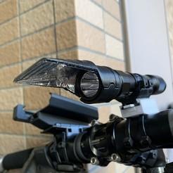 Télécharger fichier impression 3D gratuit Écran de lampe de poche universel antiéblouissement, CyberCyclist