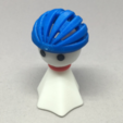 Free 3D printer model Bike Helmet, CyberCyclist
