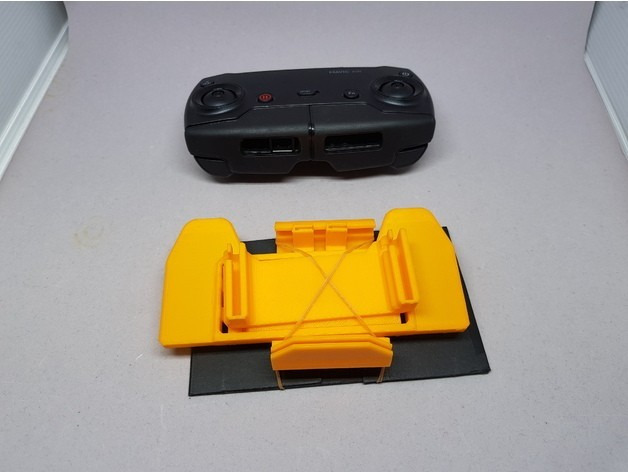 634365901ac0cc1d5fbfc8aba932a7a9_preview_featured.jpg Download free STL file MAVIC Air controler foldable mount for iPhone 6/iPad mini 4 • Template to 3D print, CyberCyclist