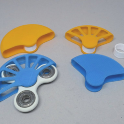 Download free STL Spinner Holder, CyberCyclist