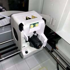 Download free 3D printer designs Adventurer3 simplified fan duct & dual fan duct, CyberCyclist