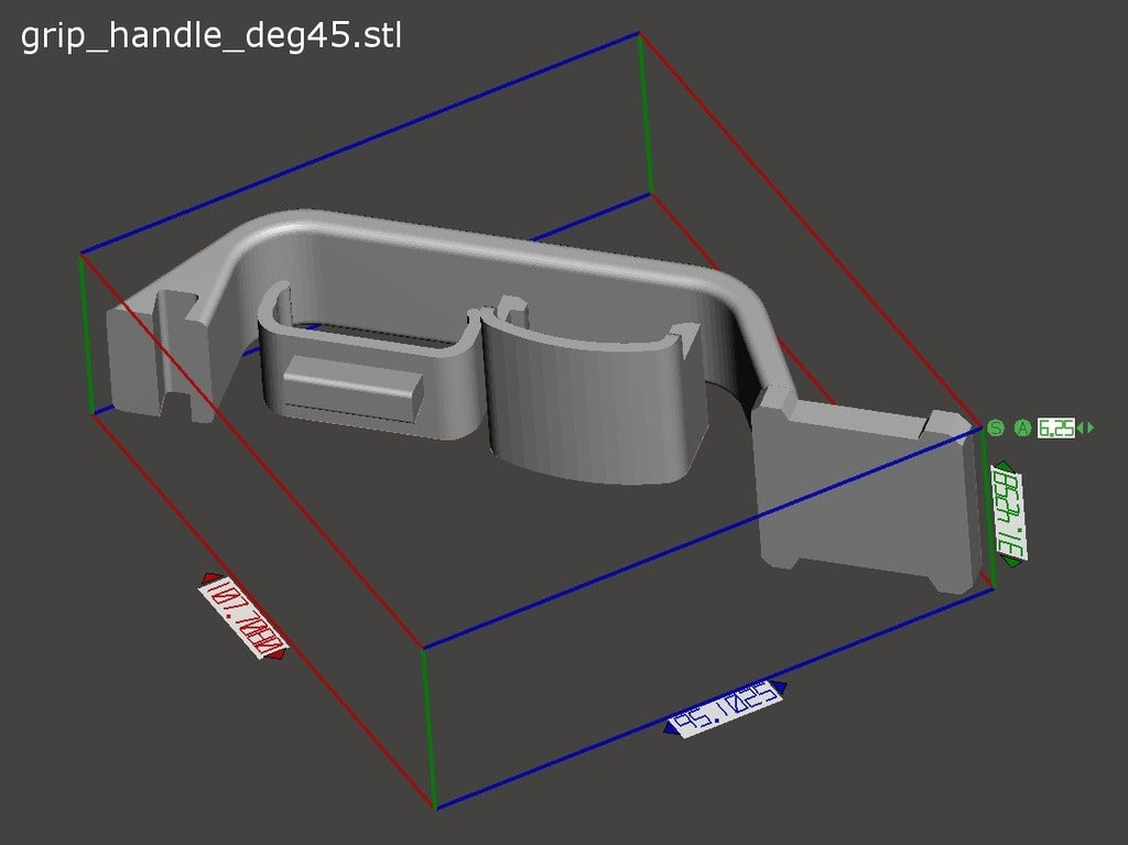 30e9b2359854c72aabb157d85fdd23ad_display_large.jpg Download free STL file Oculus Quest Grip Handle • 3D printer template, CyberCyclist