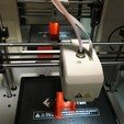 Download free STL file FlashForge Adventurer3 Mirror Hook • 3D printing template, CyberCyclist