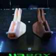 Free STL UP BOX/AFINIA H800 Perfboard Locking Jig, CyberCyclist